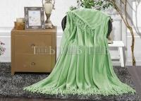 Плед зеленый